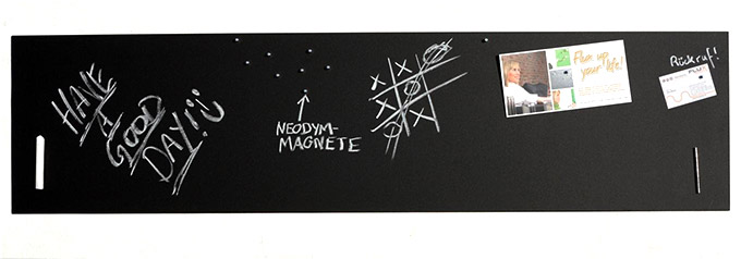 Große Pinnwand/Pinwand/Magnet-Tafel in 110 x 30 cm